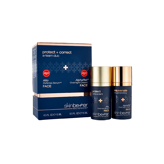 Skinbetter Science Protect And Correct A-Team Duo Face